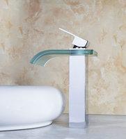 OUBONI Brand New High Quality Brass Waterfall Basin Tap 8220 Bathroom Faucet Mixer Torneira Banheiro Hot