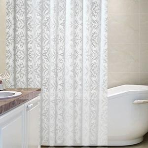 Image 2 - New Popular Floral Waterproof Thickened Shower Curtain Fashion Bathroom Products Bathroom Curtains Home Merchandises