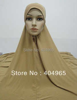 H637 plain big size lycra muslim hijab,without stiff on front,fast delivery,assorted colors