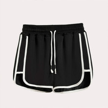 Summer Casual sport Women Short Pants Thin section All-match Loose Solid Soft Female Stretch Shorts Plus Size S-5XL