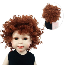 New Brand Fashion Short Hair Curly Wig for 18 inch American Doll Making & Repair Hot Sale Accessories On