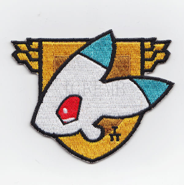 100%Embroidery Gundam <font><b>Londo</b></font> Bell Military Tactical Morale Embroidery patch Badges B2477 image