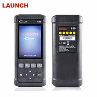 100% Original OBD 2 Launch Creader 619 Automotive Scanner Support ABS SRS Auto Scanner CR619 OBD2 Scanner ODB Scaner Aotomotivo