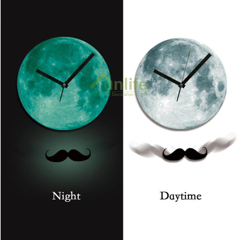 Horloge murale pendule achetez des lots petit prix for Horloge lumineuse