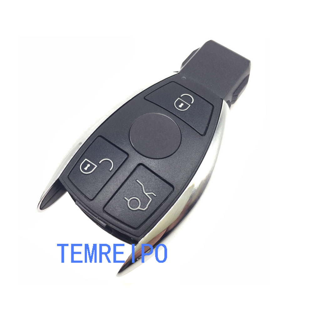 New style Replacement Remote Car key case shell for mercedes benz 3 buttons smart key case cover fob selling no chip inside