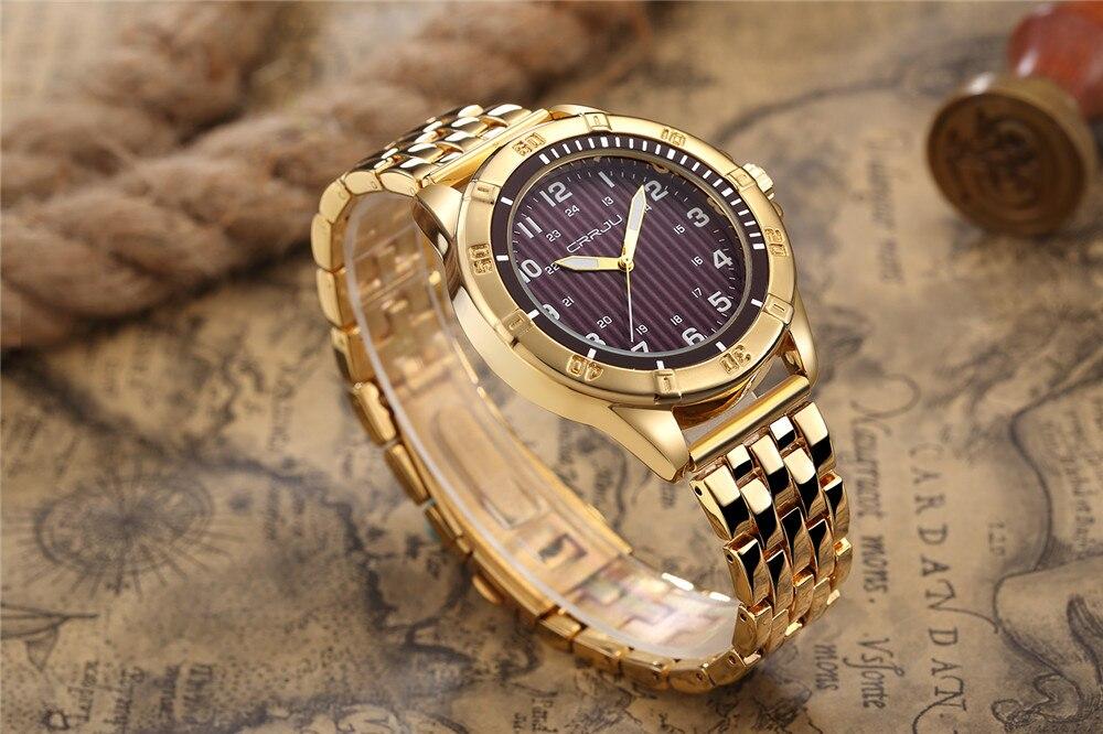 Hoogwaardige heren quartz-horloge luxe merk herenhorloge waterdichte - Herenhorloges - Foto 3