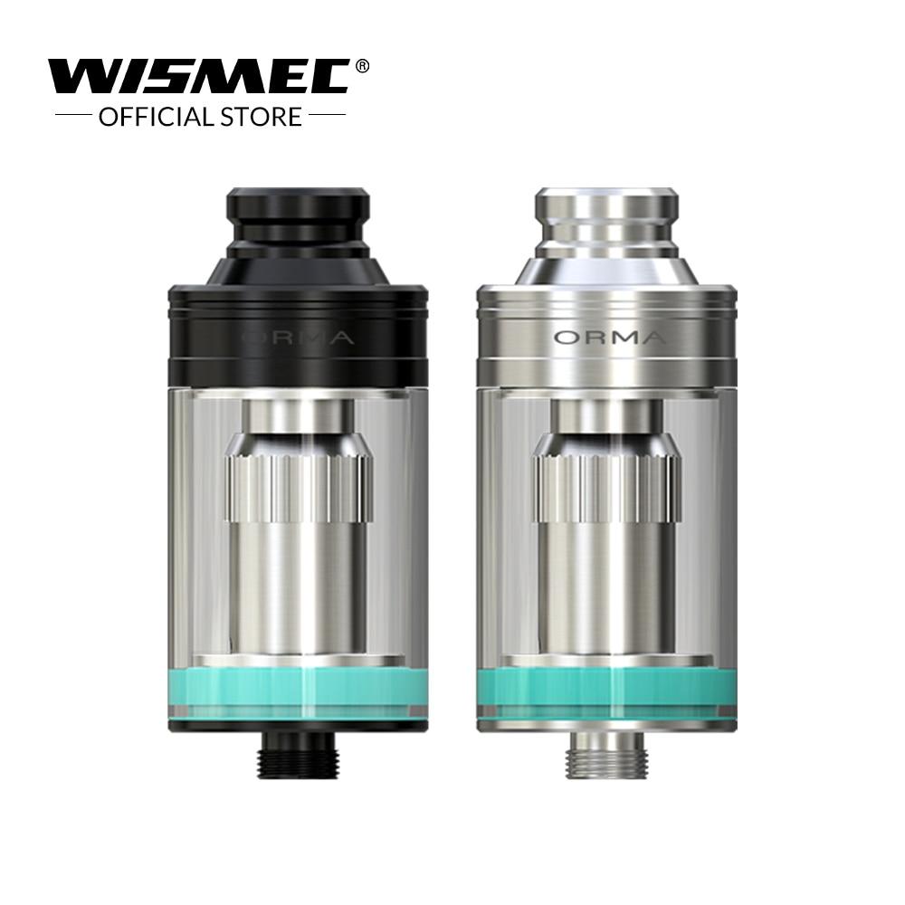 Original Wismec ORMA Tank 3.5ml capacity with DS NC 0.25ohm Head Side E-liquid Filling Electronic cigarette vape tank