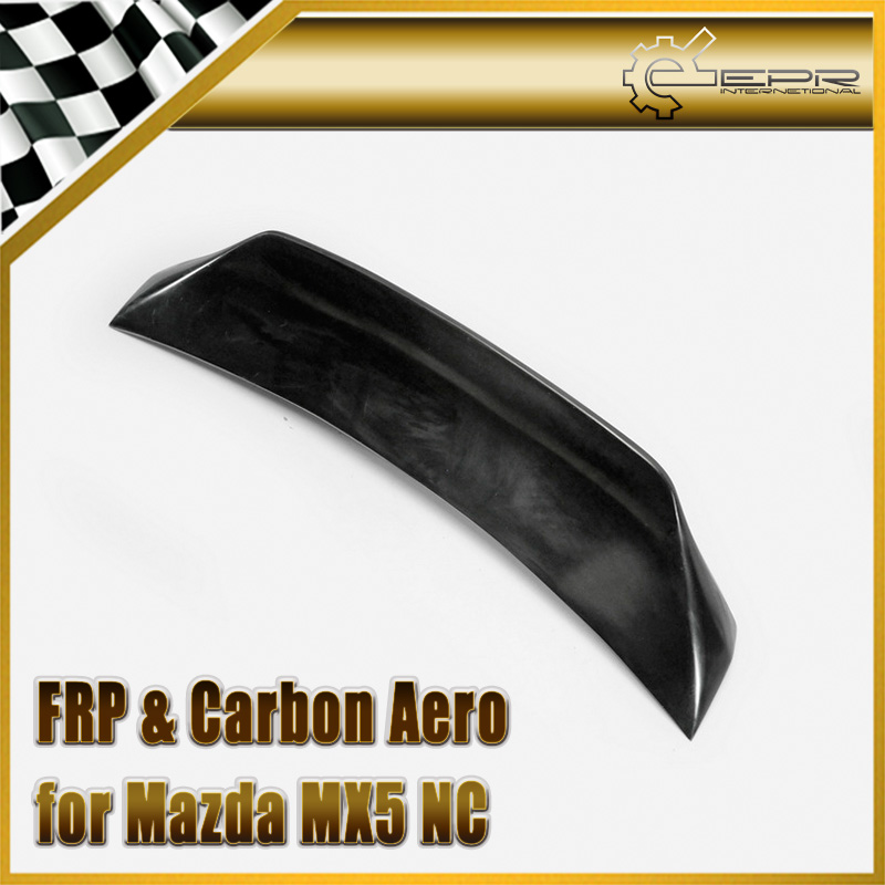 Car styling FRP Fiber Glass EPA Rear Duckbill Spoiler PRHT Hard Top Only Fiberglass Trunk Wing