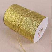 Altın Soğan Şerit 25 metre Düğün Parti Şenlikli Dekorasyon El Sanatları Hediyeler Sarma Giyim Dikiş Kumaş Malzemeleri DIY Malzem...