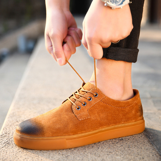 Men's Casual Suede Loafer