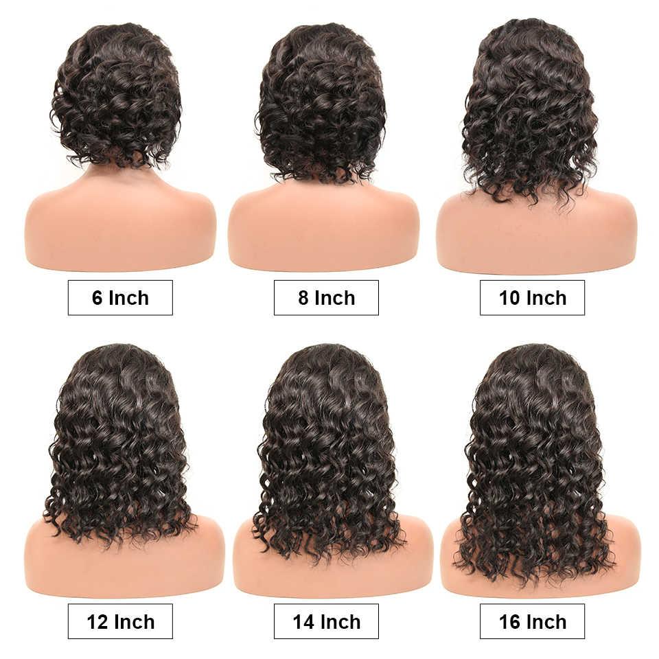 13x4 ลูกไม้ด้านหน้าผมมนุษย์ Wigs บราซิลเปียกและหยัก 13x6 ลูกไม้ Wigs Remy ผมธรรมชาติ wave 28 นิ้วราคาถูก Wigs สำหรับผู้หญิงสีดำ