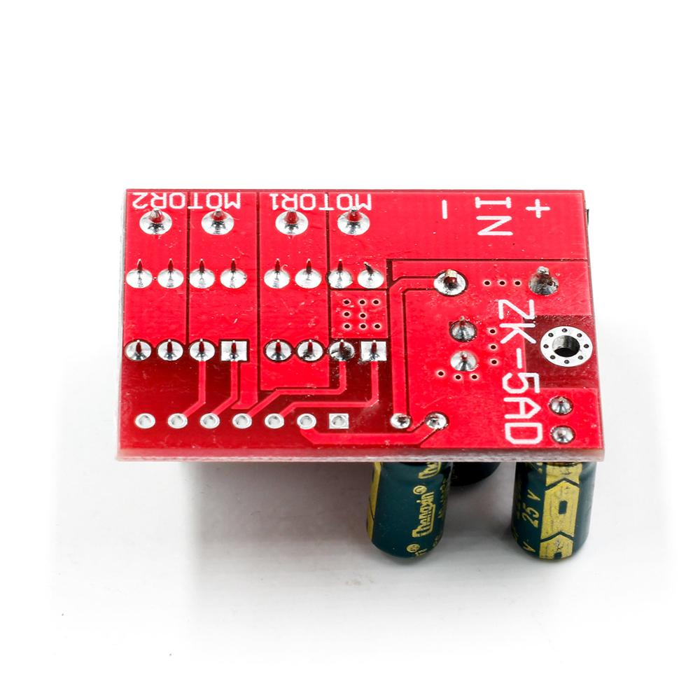 Image 5 - New 5A Dual DC Motor Drive Module Remote Control Voltage 3V 14V Reverse PWM Speed Regulation Double H Bridge Super L298N 5AD-in Integrated Circuits from Electronic Components & Supplies