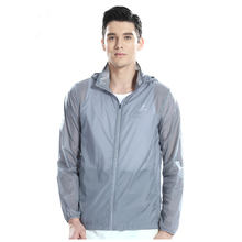 Men Running Jacket Ultra Light Outdoor Clothing Anti-Uv Sun Protection Waterproof Run Outerwear