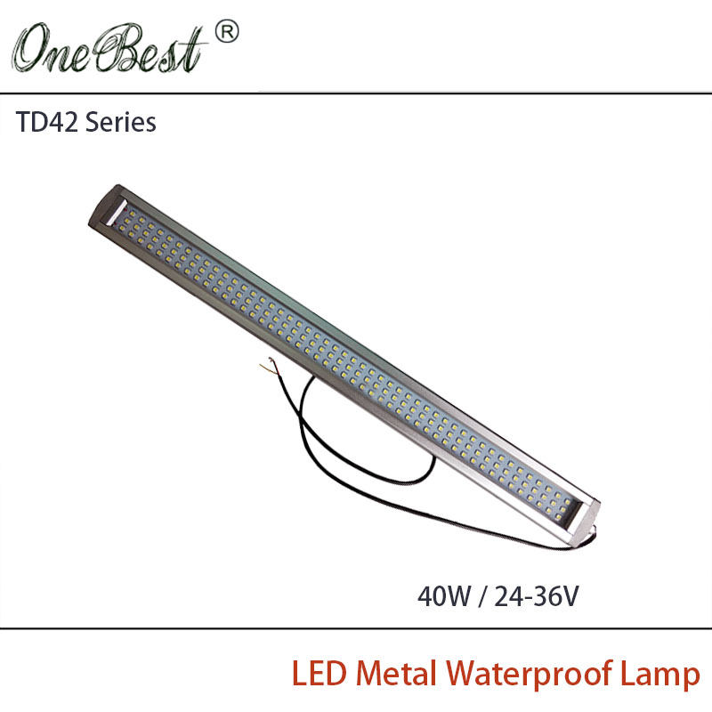 HNTD 40W TD42 24V/36V Led Metal Panel Light CNC Machine Tool Waterproof IP67 Explosion-proof Led Work Light купить