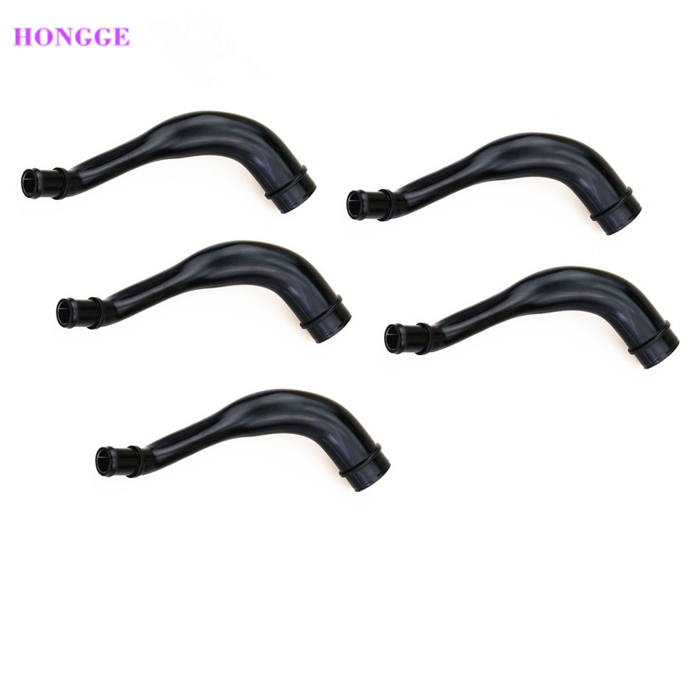 HONGGE Qty 5 1.8T Engine Ventilating Exhaust Hose For VW