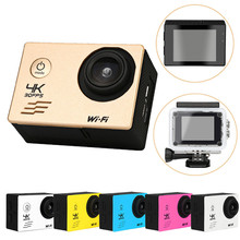 Newest Best Price Waterproof Case 4K WIFI Mini Action Cam HD DV Sports Recorder Camera Free Shipping NOM18