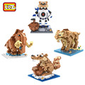 Ice Age Action Figure Cartoon Anime Movie Character Model Sid Manny Diego DIY Diamond Building Block Educational Toys