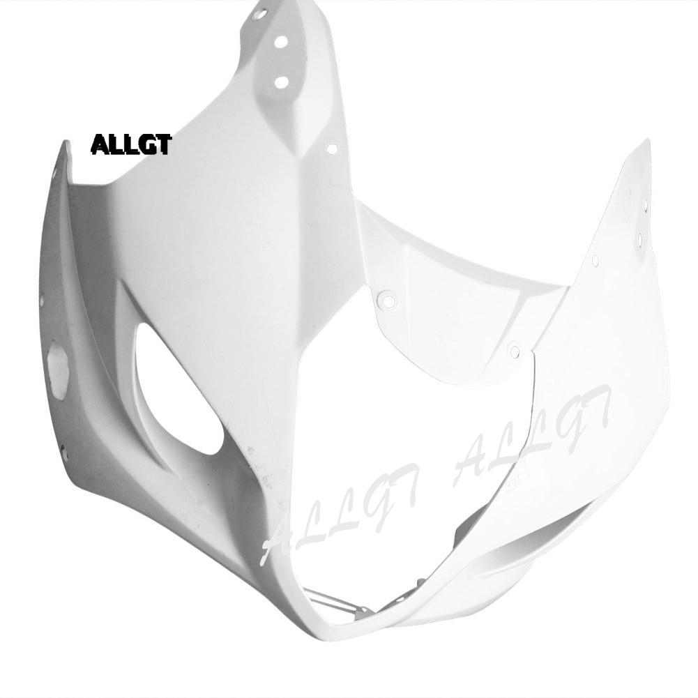 ALLGT for SUZUKI GSXR 1000 2003 2004 K3 Unpainted Upper Front Cowl Nose Fairing injection mold unpainted upper front fairing cowl nose fits for suzuki 2006 2007 gsxr 600 750 k6 abs