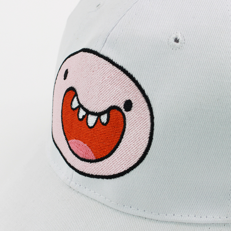 d6570730c87 Cartoon Hat Adventure Time Finn White Casual Sunscreen Baseball Hat Print  Smile Factory Outlet-in Boys Costume Accessories from Novelty   Special Use  on ...