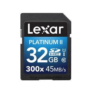 Image 5 - 100% Originele Lexar Flash Sd 300x16 GB 32GB SDHC 45 MB/s cartao de memoria Klasse 10 u1 USH I Geheugenkaart Voor Camera kaarten