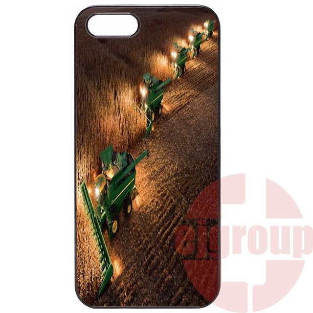 buy online 4d156 961b9 US $2.99 |big farm tractor john deere For Apple iPhone 4 4S 5 5C SE 6 6S 7  7S Plus 4.7 5.5 iPod Touch 4 5 6 Protective Skin on Aliexpress.com | ...
