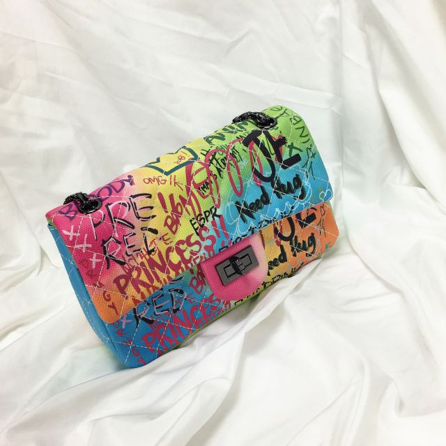 Women's Bag Color Graffiti...
