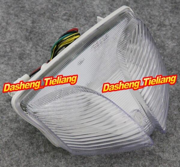 Effacer Moto Intégré Moteur LED Feu arrière Clignotants pour Suzuki GSXR 600 750 08-09 & GSXR 1000 2009 2010 Feu Arrière