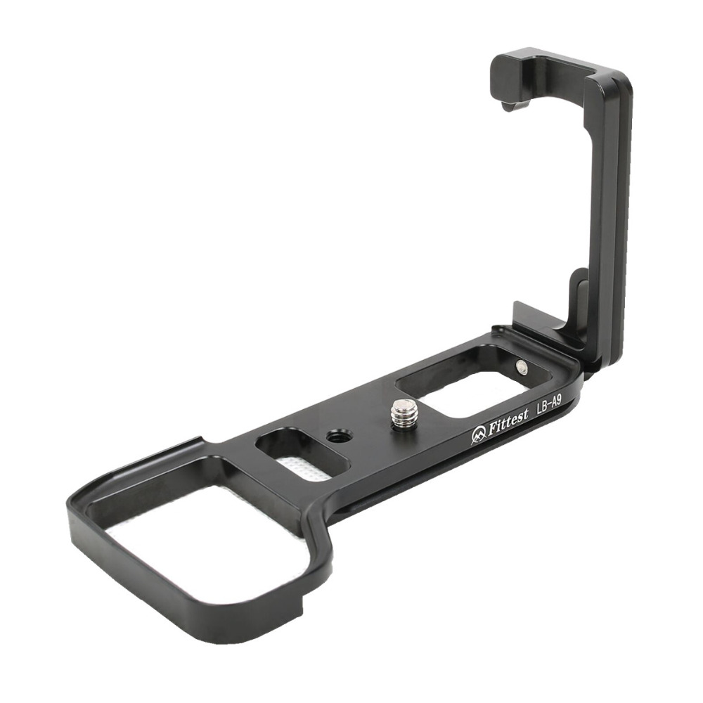 QR Quick Release Vertical L Shape Hand Grip Bracket Plate LB-A9 for Sony A9 ILCE-A9 Arca-Swiss