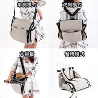 Baby Portable Highchairs Mummy Bag Multifunctional Bulk Bag Backpack Bag Out Pregnant Women