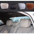 2pcs Maybach Design Car Headrest Neck Pillow Seat Cushion Car Covers for Mercedes Benz W204 W203 W211 W210 W212 W205 car-styling