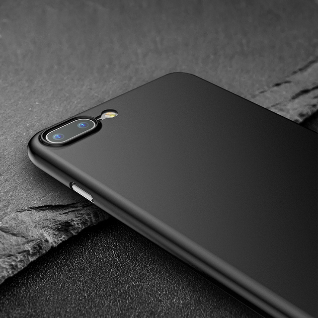 Baseus Luxury Frosted Matte Case For iPhone 7 Capinha Ultra thin Slim Protective Shell Back Cover For iPhone 7 Plus Coque Funda