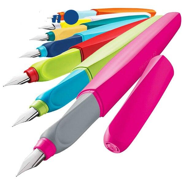 Twist P457 stylo plume Correct écriture Posture Triangle titulaire calligraphie écriture stylo 0.5/0.7/0.28mm 7 couleurs Childern étudiant