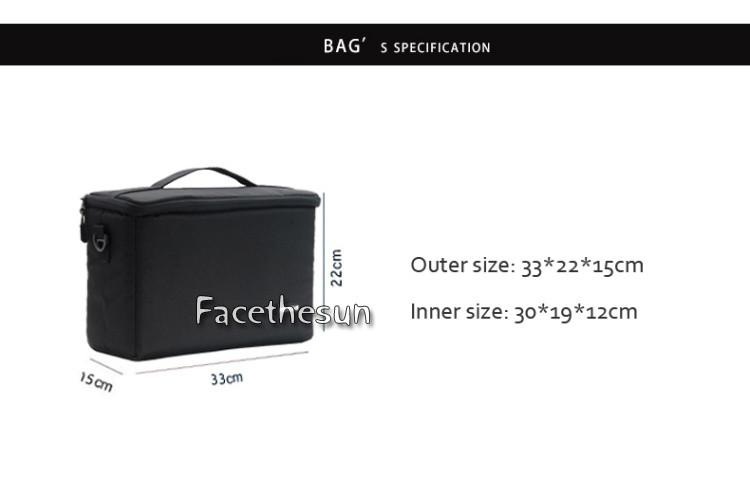 Camera bag insert 1 -3