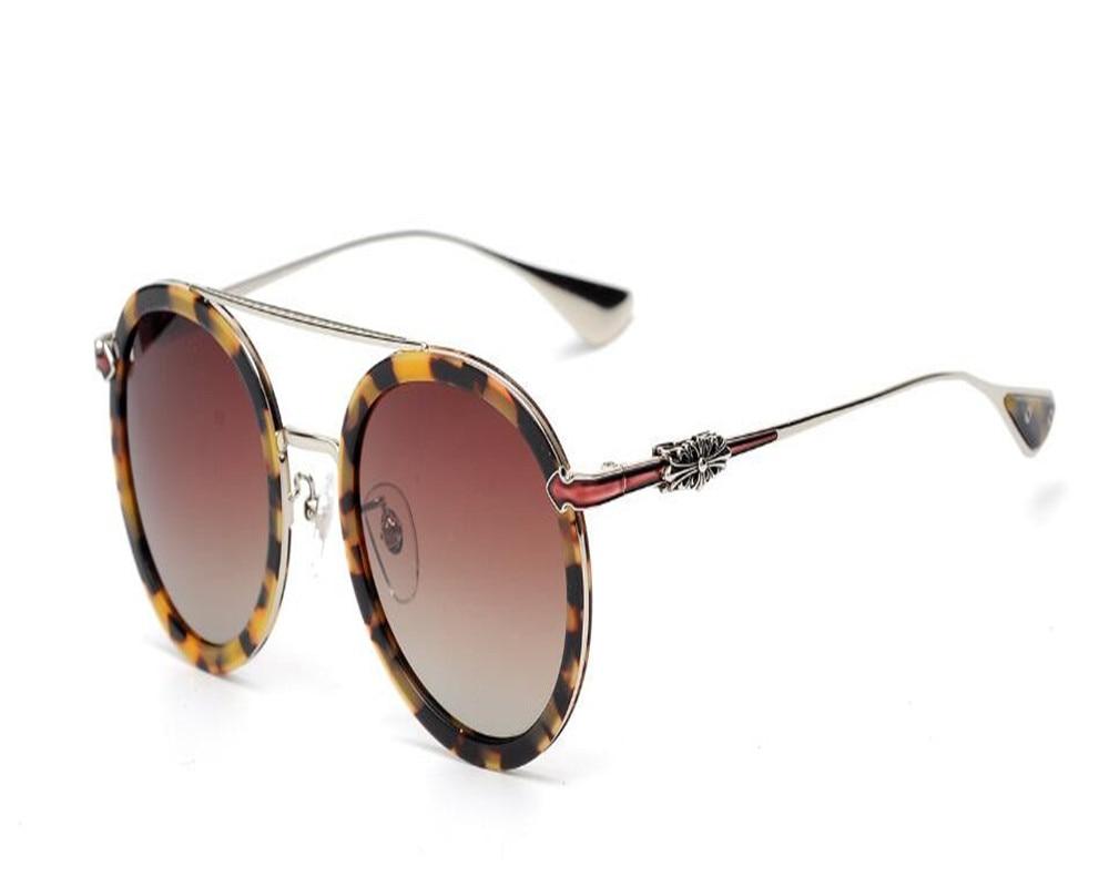 DOWER ME Fashion Retro Unisex Acetate Round Frame Black Leopard Driver Polarized Sunglasses for Women Men Sunglasses Frame unisex metal frame polarized sunglasses