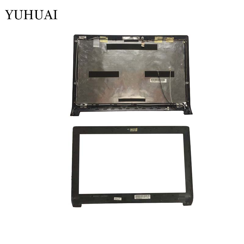 Laptop LCD Top cover/LCD front bezel For Asus N53 N53J N53JG 13GN1I5AP0111 13GN1I5AP020-1 new laptop for asus a53t k53u k53b x53u k53t k53t k53 x53b k53ta k53z top lcd plamrst cover bottom cover hinges speaker jack