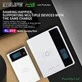 RL-311 10 Вт Беспроводная Быстрая зарядка для батареи мобильного телефона светодиодный цифровой дисплей включительно 2.1A мобильная зарядка для...