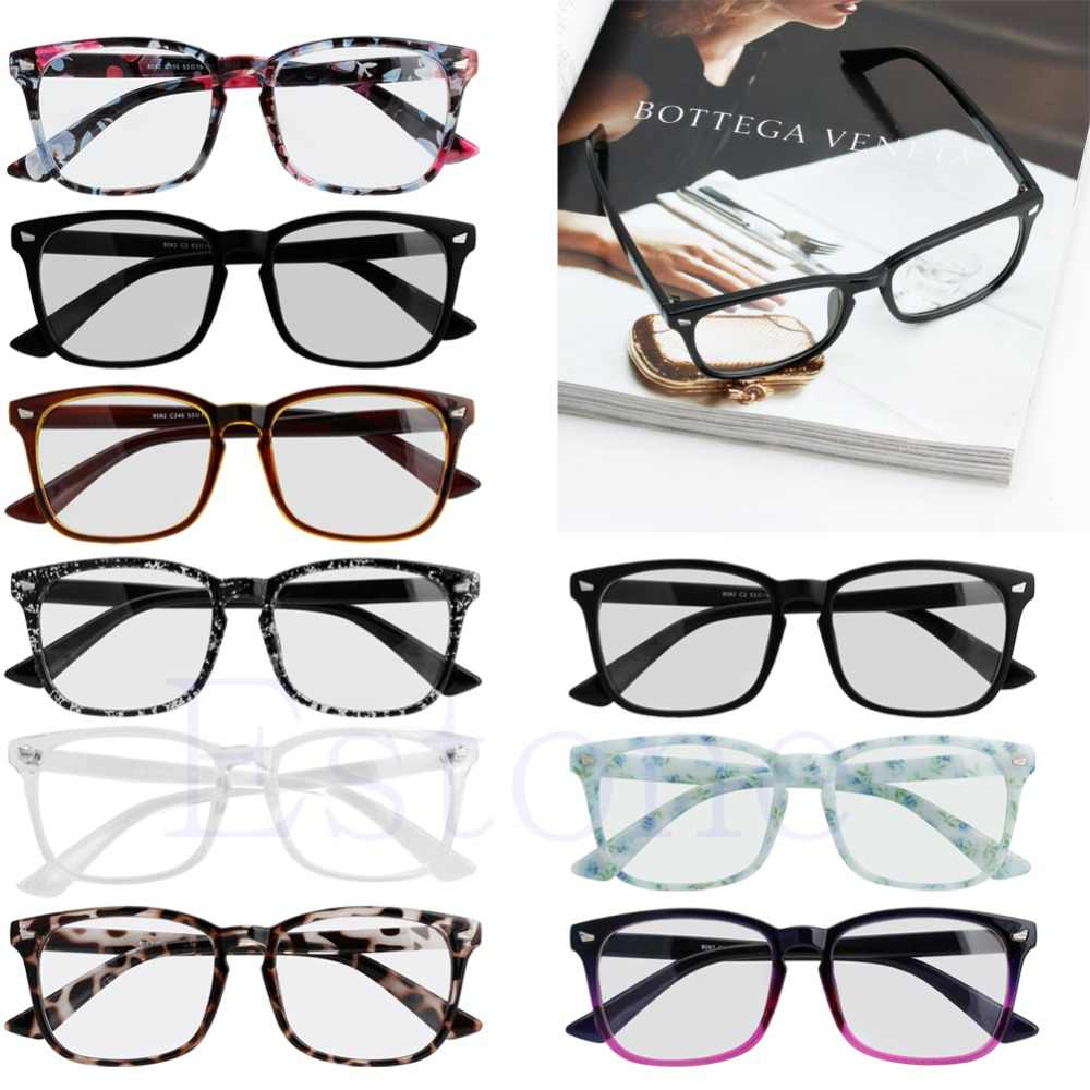 01564ed1887 1 PC Men Women Fashion Frame Full Rim Computer Glasses Retro Eyeglass  Spectacles Pure Colors