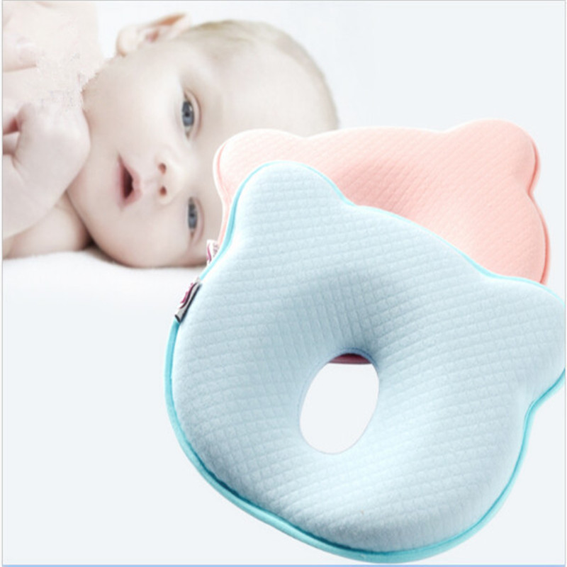 1pc Memory Foam Baby Pillows Breathable Baby Shaping