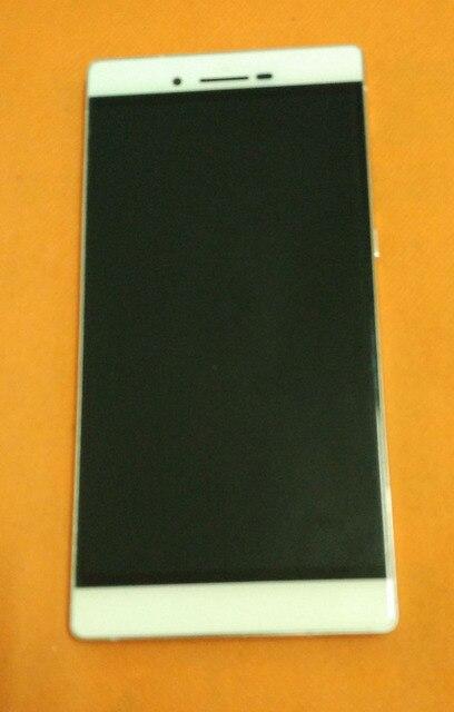 """משמש מסך מקורי תצוגת LCD + מסך מגע + מסגרת עבור CUBOT X11 MTK6592 אוקטה Core 5.5 """"HD 1280x720 משלוח חינם"""