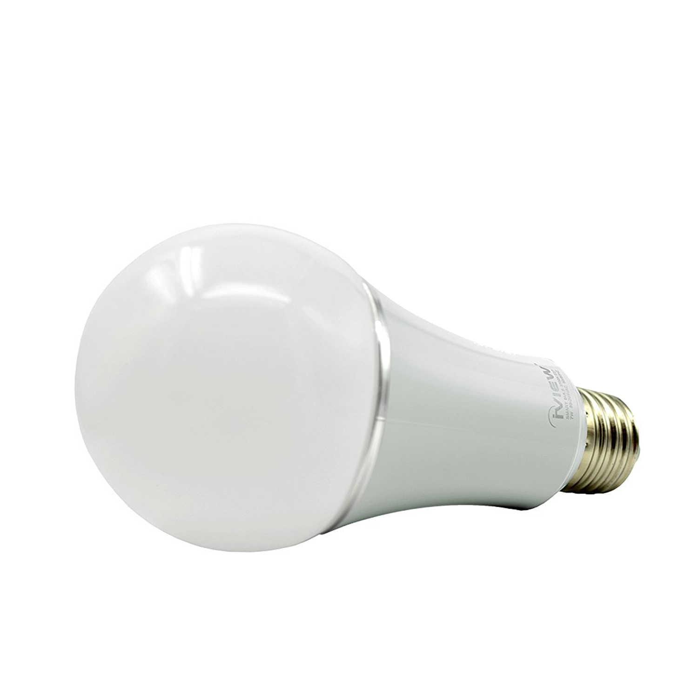Bombilla LED WiFi inteligente EASY ISB600, multicolor, regulable, sin repetidores, control remoto de aplicación gratuito, compatible con Amazon Alexa y