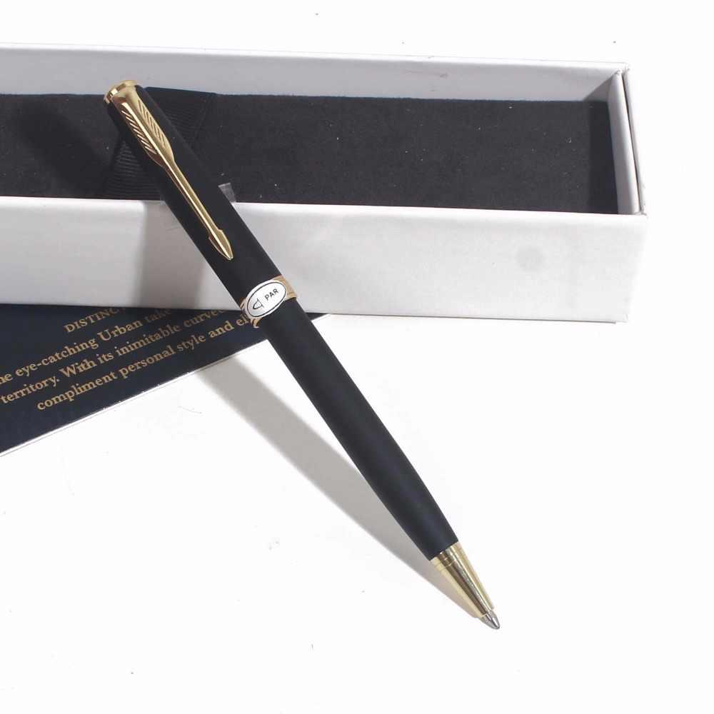 Sonneting Rollerball ปากกาโลหะ office Classic gold black gold คลิปปากกาของขวัญ Gold