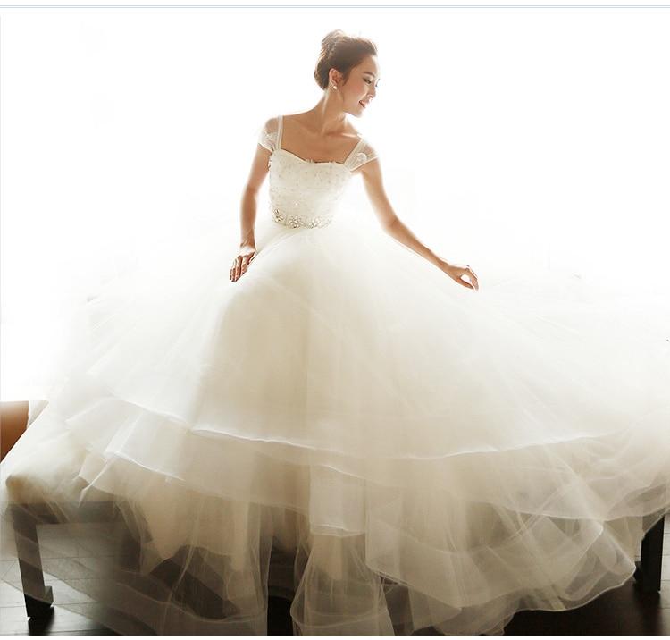 Bridal Gown Flowers Crystal Romantic Fashion Sexy Vestido De Novia Casamento 2018 Free Shipping Mother Of The Bride Dresses