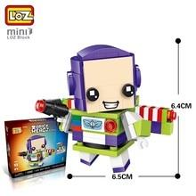 LOZ Mini bloques Buzz Lightyear figura de acción juguetes para niños  construye juguetes educativos para niño regalo ladrillos 14. 7537b88d4c9