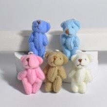 1 шт. Kawaii маленькие медведи плюшевые мягкие игрушки жемчужные бархатные куклы подарки мини плюшевый медведь