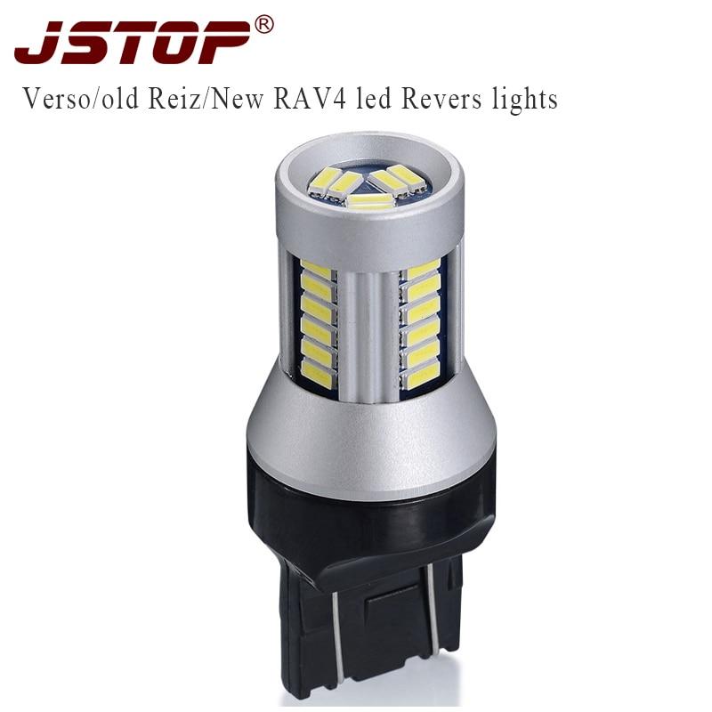 JSTOP T20 autoLights led 7443 lámpa canbus led 12VAC 6000k T20 W21 / - Autó világítás