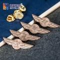 Винтаж Boeing 737/747/777/787, медная Медаль Контактный Брошь Лучший Маленький Подарок для любовника пилот авиатор летчик