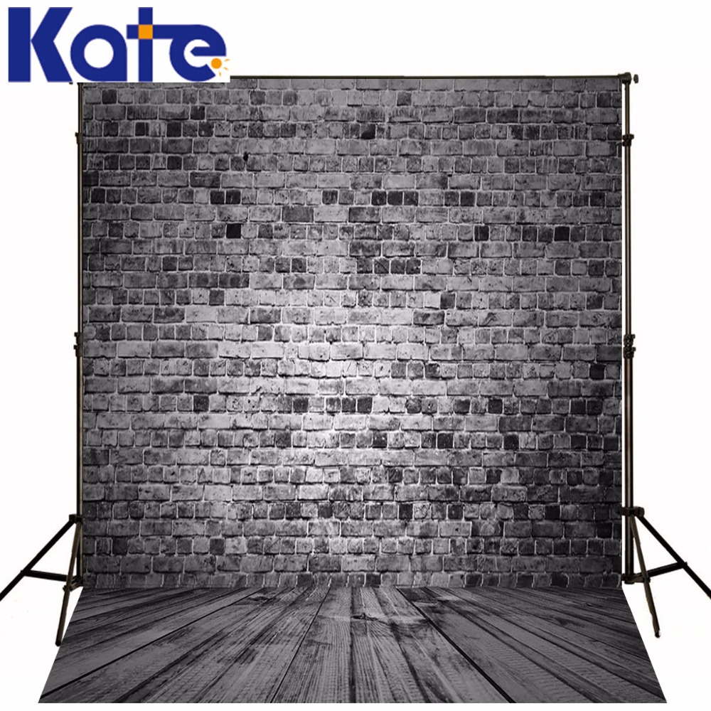 Photography Backdrops Nostalgic Gray Brick Wall Wood Brick Wall Backgrounds For Photo Studio Ntzc-076 allenjoy photography backdrops white and gray brick wall brick floor backgrounds for photo studio photography studio backgrounds