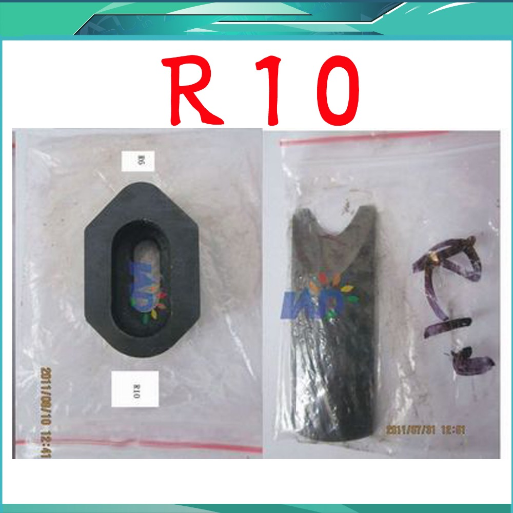 R10 Die Blades for Heavy Duty All Steel Corner Rounder Punch Cutter Upper and Lower Blade 1pc r10 10mm corner cutter rounder punch for card photo paper cutter tool blue