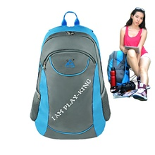 Outdoor Camping Hiking Useful Portable Fishing Chair Folding Stool Nylon Backpack Travel Use Storage Bags