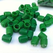 L1000pcs темно-зеленые пластиковые шины/колпачки для защиты от пыли Пита обезьяна Байк, мотоцикл, скутер
